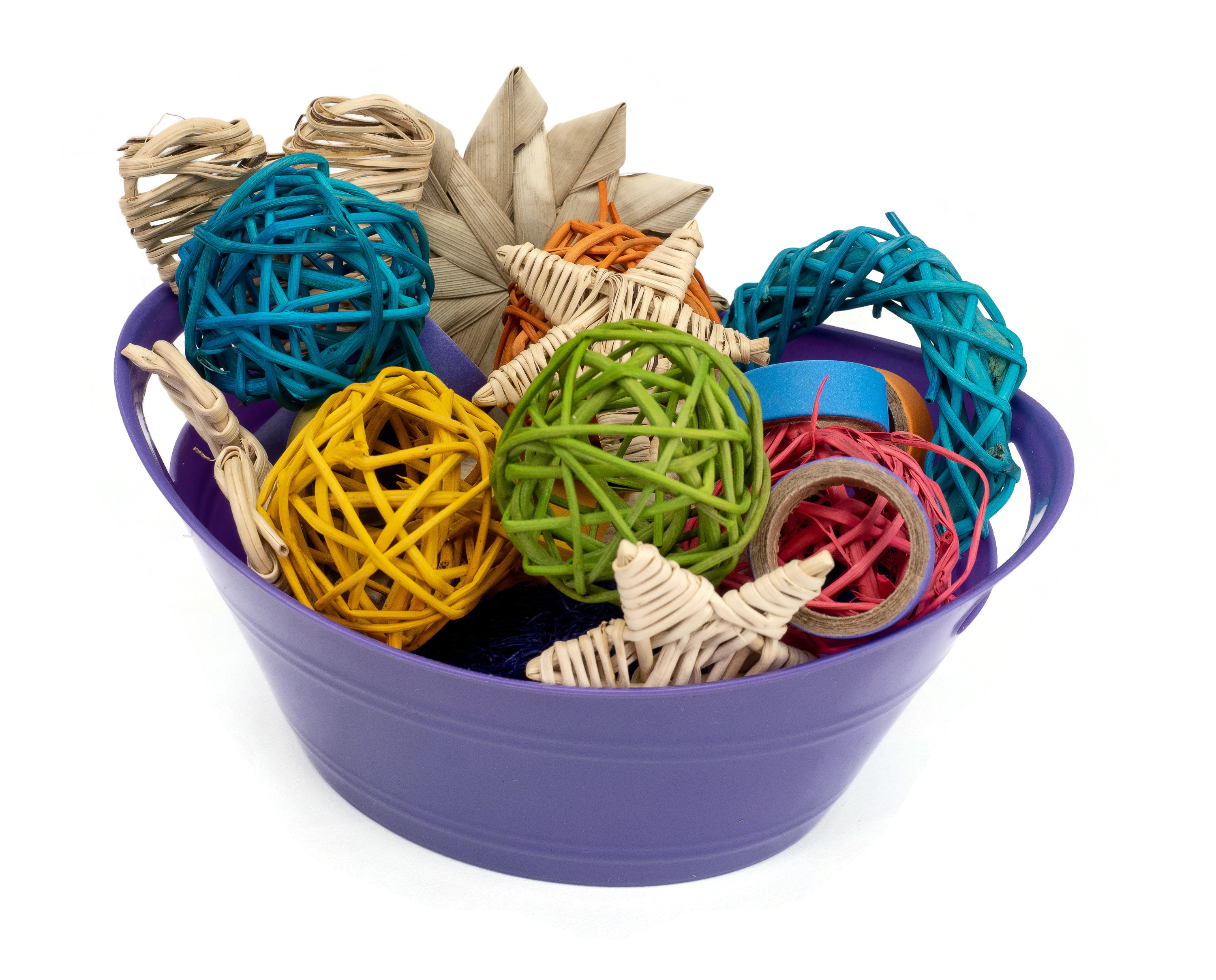 Tiny Treasures Basket (Small) - Loved by Hamsters, Mice, Gerbils, Rats and Guinea Pigs