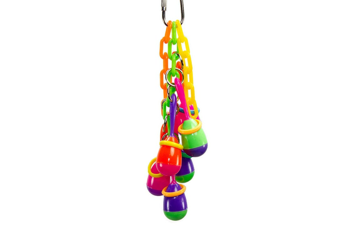 Maraca Madness - Small Bird Toy