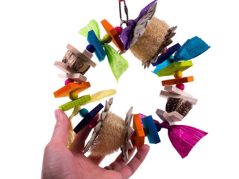 Cheeky Wreath Swing - Bird Toy