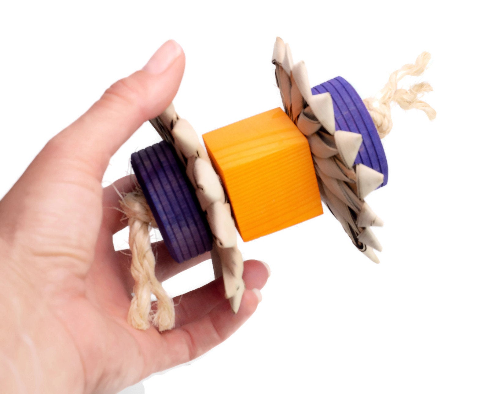 Wheelie Foot Toy -  Large Bird Toy