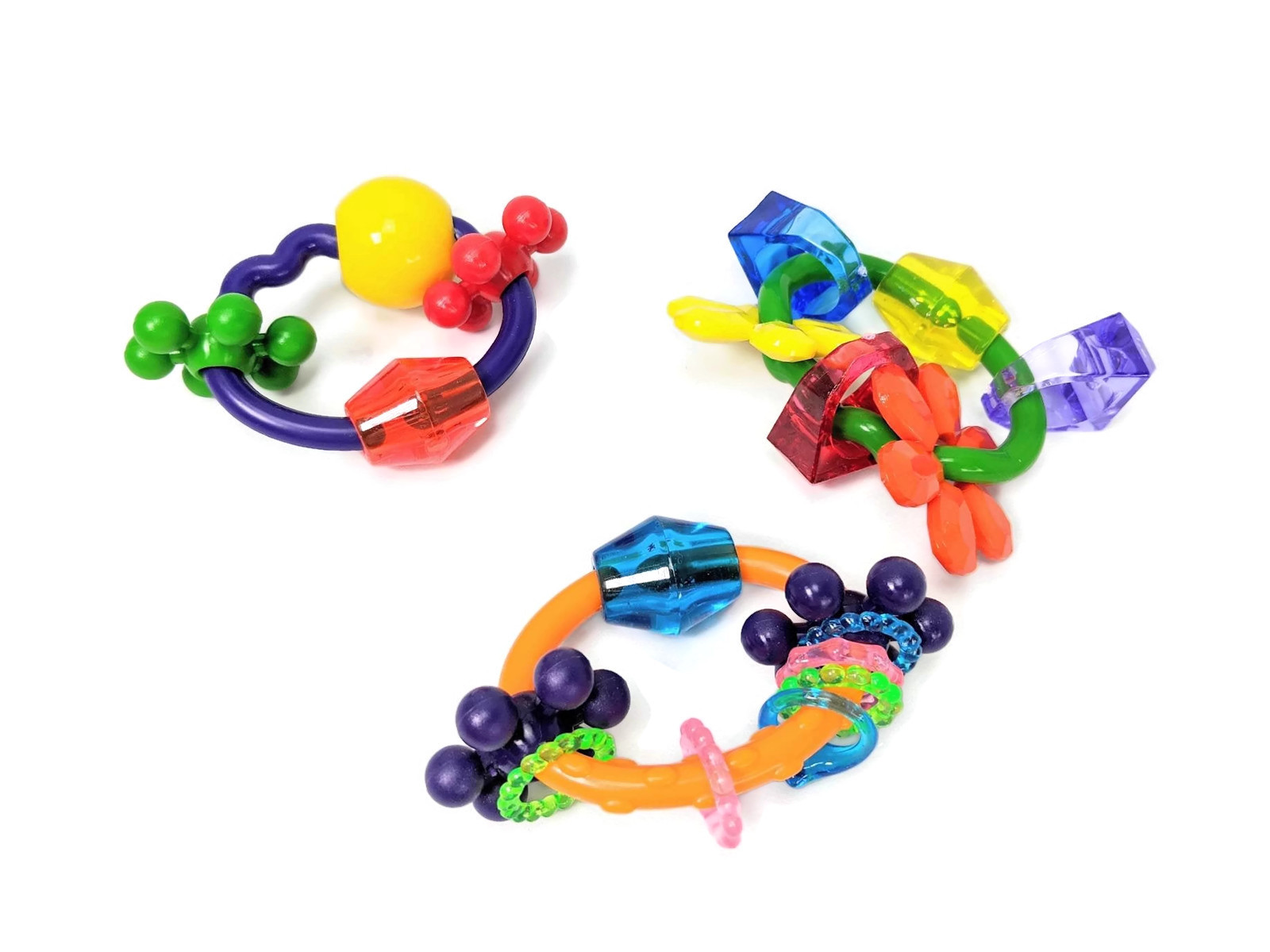 Bundle of Fun - Foot Toys - Bird Toy for Medium and Large Parrots