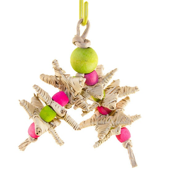 Balls and Stars - Small Bird Toy