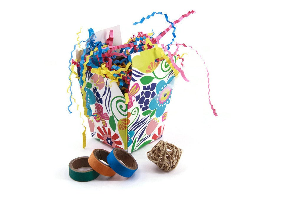 Party Down Foraging Box for Small, Medium and Large Parrots - Bird Toy