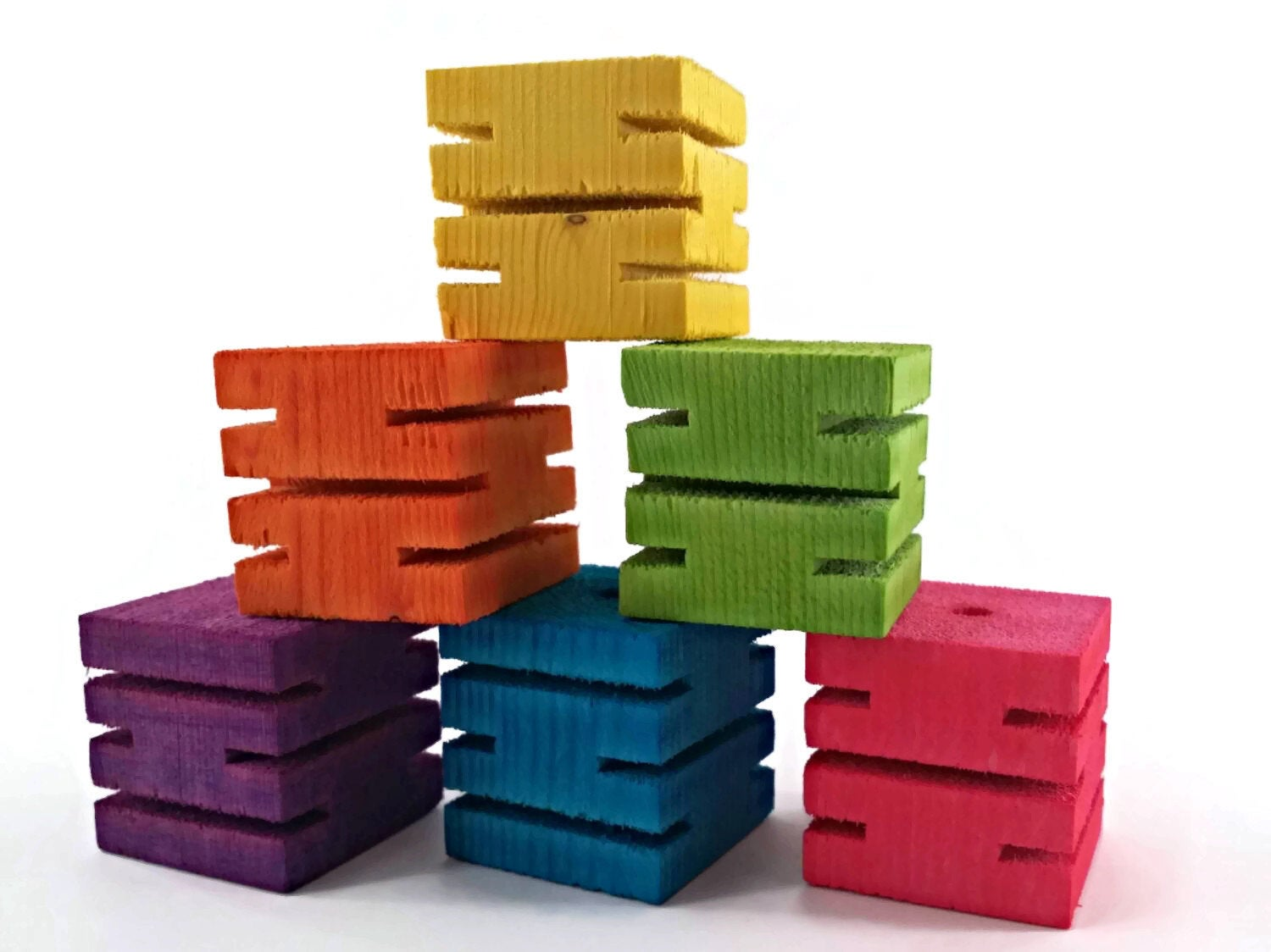 Groovy Blocks -  Bird Toy Part