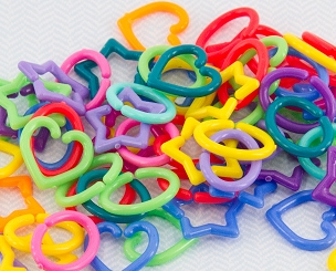 Mini Links - Rainbow (100 pack)
