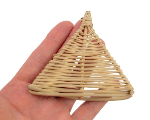 Tri Cone - Natural Wicker