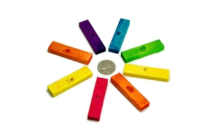 Colored Mini Balsa Blocks  (2