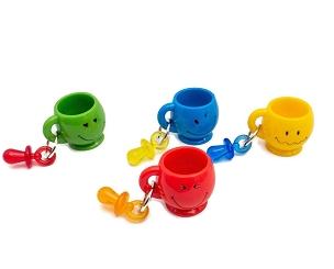 Emoji Mugs Foot Toys - Bird Toy
