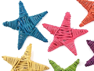 Large Vine Stars - Assorted Colors