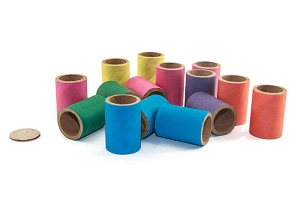 Birdie Bagel Tubes 1 x 1.5 - Bird Toy Parts