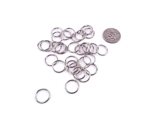 Nickel Plated - 12 mm O Ring