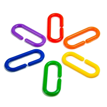 Bright and Cheery C-Links - Bird Toy Part