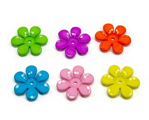 Small Daisy Flowers - Bird Toy Parts, Sugar Glider Toy Parts