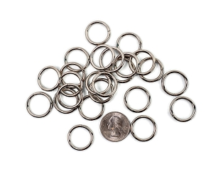 Nickel Plated - 16 mm O Ring